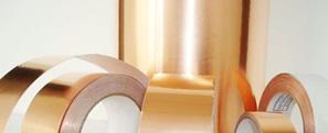 双导铜箔胶带在生产过程中铜皮卷边和脱胶现象