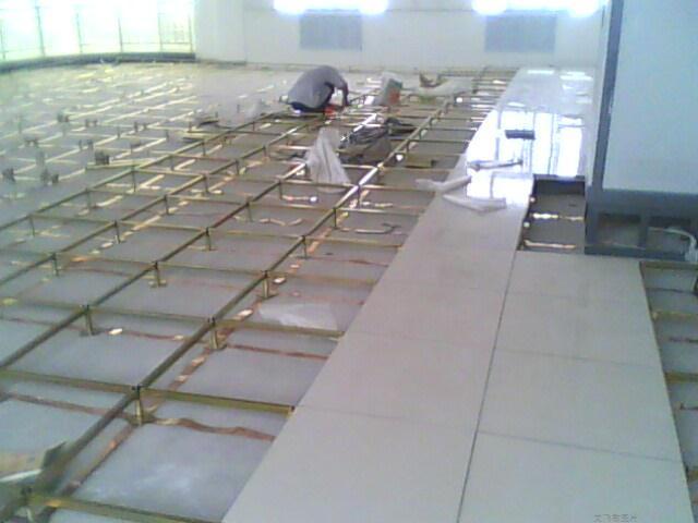 艾飞敏导电铜箔在合肥防静电地板工程中的应用